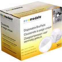 Одноразовые вкладыши для бюстгальтера Medela Disposable Nursing Pads 30 шт (008.0320)