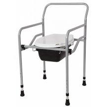 Кресло с санитарным оснащением регулируемое HEACO KT-770