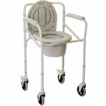 Складной стул-туалет на колесах, OSD-2110JW