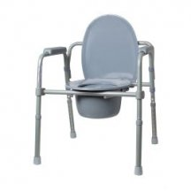 Кресло-туалет с санитарным оснащением (регулируемое по высоте, складное) RIDNI RD-CARE-T02 (KJT717)