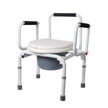 Кресло-стул (регулируемое по высоте, с откидными подлокотниками) RIDNI RD-CARE-T03 (KJT729)