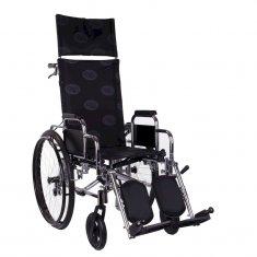 Многофункциональная инвалидная коляска, OSD Recliner Millenium ( хром )