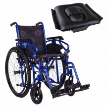Стандартная инвалидная коляска, OSD Millenium 3 с санитарным оснащением