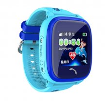 Smart baby watch Smartix LBS DF25 (Q100 AQUA) blue