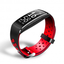 Smart band Smartix Q8 tonometrr red