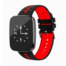 Smart band Smartix V6 tonometr red