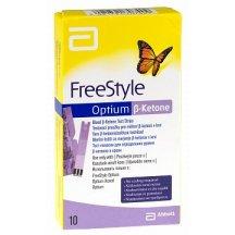 Тест-полоски FreeStyle Optium β-Ketone (Бета-Кетон), 10 шт