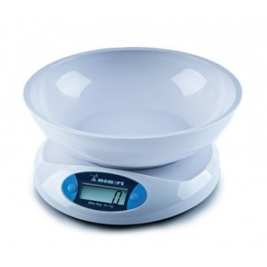 Весы электронные кухонные на стеклянной платформе Momert 6800