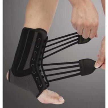 Бандаж на голеностопный сустав со спиральными ребрами жесткости ORTOP WH-917
